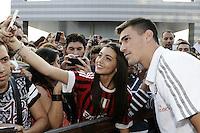 Milan Presentazione Ufficiale della squadra ai tifosi. Official presentation of AC Milan Football Calcio 2015/2015 Milano 10-09-2015 - Milan presentazione ufficiale <br /> della squadra ai tifosi / foto Daniele Buffa/Image Sport<br /> nella foto: Alessio Romagnoli