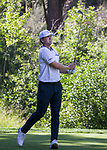 Will Gorden watches his shot during the Barracuda Championship PGA golf tournament at Montrêux Golf and Country Club in Reno, Nevada on Sunday, July 28, 2019.