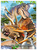 Howard, SELFIES, paintings+++++Dino poster 2,GBHRPROV155,#Selfies#, EVERYDAY ,dinos,dinosaurs