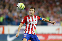 Atletico Madrid´s Spanish midfielder Gabi