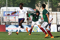 Tammy Abraham of England U21's in action during Mexico Under-21 vs England Under-21, Tournoi Maurice Revello Final Football at Stade Francis Turcan on 9th June 2018