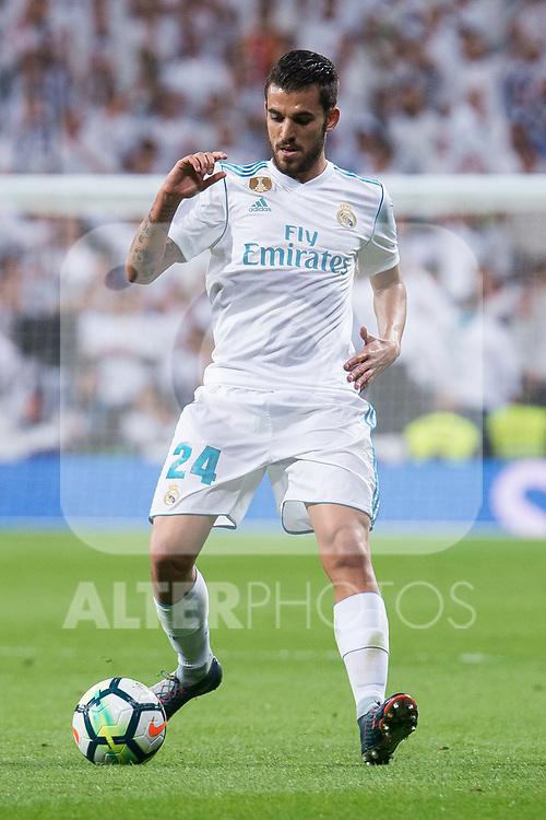 Real Madrid Dani Ceballos during La Liga match between Real Madrid and Eibar at Santiago Bernabeu Stadium in Madrid, Spain. October 22, 2017. (ALTERPHOTOS/Borja B.Hojas)