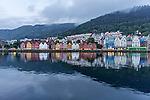 Bryggen in Bergen, Norway.