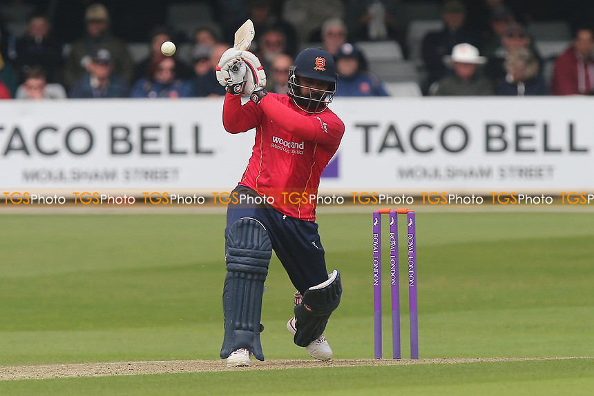 Ashar Zaidi in batting action for Essex during Essex Eagles vs Hampshire, Royal London One-Day Cup Cricket at The Cloudfm County Ground on 30th April 2017