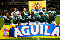 CALI - COLOMBIA - 14 - 05 - 2017: Los jugadores de Deportivo Cali, posan para una foto, durante partido de la fecha 18 entre Deportivo Cali y Alianza Petrolera, por la Liga Aguila I-2017, jugado en el estadio Deportivo Cali (Palmaseca) de la ciudad de Cali. / The players of Deportivo Cali, pose for a photo, during a match of the date 18th between Deportivo Cali and Alianza Petrolera, for the Liga Aguila I-2017 at the Deportivo Cali (Palmaseca) stadium in Cali city. Photo: VizzorImage  / Nelson Rios / Cont.in Cali city. Photo: VizzorImage  / Nelson Rios / Cont.