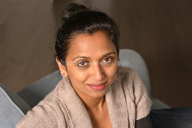 Natacha Appanah, French writer in 2015.