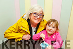 Robyn Gilmore Coleman with her nan Liz Coleman enjoying her ice cream in Sundea's Ice Cream shop as part of the Ballybunion Foodtrail on Saturday.