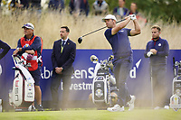 Paul Casey (Team Europe) on the 6th during the friday fourballs at the Ryder Cup, Le Golf National, Iles-de-France, France. 27/09/2018.<br /> Picture Fran Caffrey / Golffile.ie<br /> <br /> All photo usage must carry mandatory copyright credit (© Golffile | Fran Caffrey)