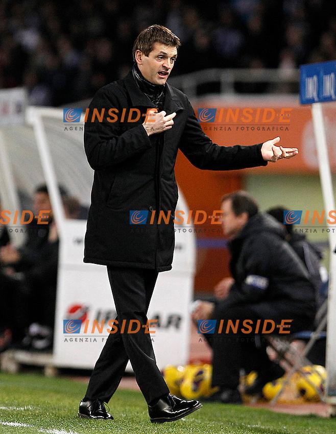 FC Barcelona's coach Tito Vilanova during La Liga match.January 19,2013. (ALTERPHOTOS/Acero) .San Sebastian 19/01/2013.Football Calcio 2012/2013 La Liga Spagna.Real Sociedad Vs Barcellona .Foto Alterphotos / Insidefoto .ITALY ONLY