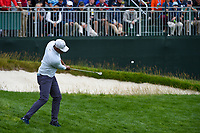 Tony Finau (USA) chips on to 8 during round 1 of the 2019 US Open, Pebble Beach Golf Links, Monterrey, California, USA. 6/13/2019.<br /> Picture: Golffile | Ken Murray<br /> <br /> All photo usage must carry mandatory copyright credit (© Golffile | Ken Murray)