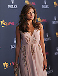 Eva Mendes attends the Los Angeles Philharmonic Opening Night Gala to celebrate music director Gustavo Dudamel and famed Peruvian tenor Juan Diego Florez at The Walt Disney Concert Hall in Los Angeles, California on October 07,2010                                                                               © 2010 Hollywood Press Agency