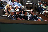 INDIAN WELLS, CALIFORNIA - MARCH 09: Larry Ellison who is a co-founder and the executive chairman and chief technology officer of Oracle Corporation and actress Elisabeth Shue attend the men's singles second round match on day six of the BNP Paribas Open at the Indian Wells Tennis Garden on March 09, 2019 in Indian Wells, California   <br /> CAP/MPI22<br /> &copy;MPI22/Capital Pictures