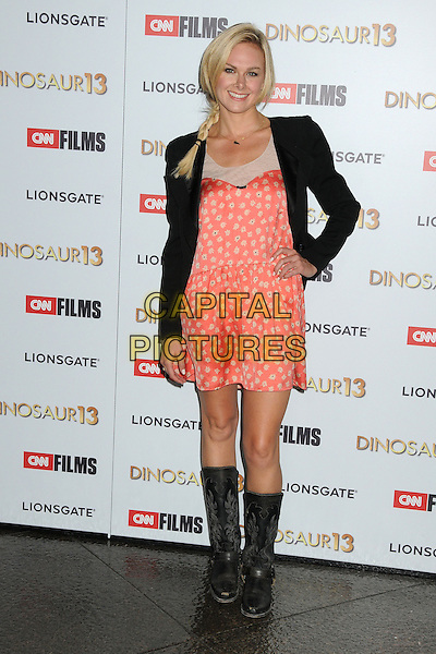 12 August 2014 - West Hollywood, California - Laura Bell Bundy. &quot;Dinosaur 13&quot; Los Angeles Special Screening held at the DGA Theatre. <br /> CAP/ADM/BP<br /> &copy;BP/ADM/Capital Pictures