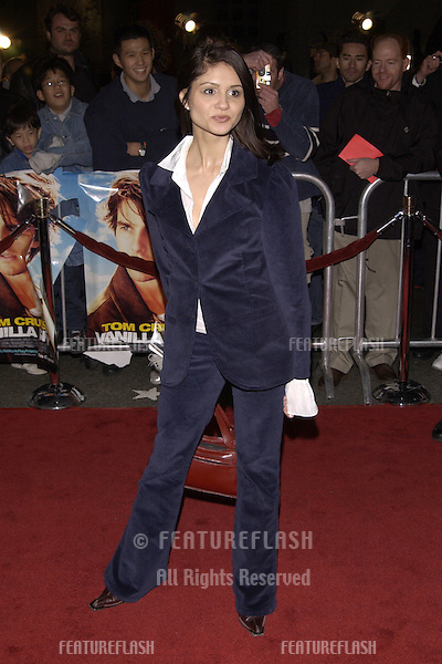 Actress TAMARA MELLO at the world premiere, in Hollywood, of Vanilla Sky..10DEC2001.