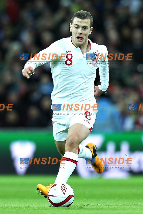 Londra 6-02-2013 Wembley Stadium.Calcio amichevole internazionale Inghilterra vs Brasile.Friendly Match England Vs Brazil .Jack Wilshere.Photo Matteo Ciambelli / Insidefoto