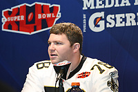 Jon Stinchcomb (Saints)<br /> Super Bowl XLIV Media Day, Sun Life Stadium *** Local Caption *** Foto ist honorarpflichtig! zzgl. gesetzl. MwSt. Auf Anfrage in hoeherer Qualitaet/Aufloesung. Belegexemplar an: Marc Schueler, Alte Weinstrasse 1, 61352 Bad Homburg, Tel. +49 (0) 151 11 65 49 88, www.gameday-mediaservices.de. Email: marc.schueler@gameday-mediaservices.de, Bankverbindung: Volksbank Bergstrasse, Kto.: 52137306, BLZ: 50890000