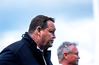 All Blacks head coach Steve Hansen during the international rugby union match between the New Zealand All Blacks and Tonga at FMG Stadium in Hamilton, New Zealand on Saturday, 7 September 2019. Photo: Dave Lintott / lintottphoto.co.nz