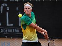 August 6, 2014, Netherlands, Rotterdam, TV Victoria, Tennis, National Junior Championships, NJK,  Milko Mulder (NED)<br /> Photo: Tennisimages/Henk Koster