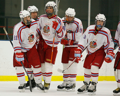 Saint Joseph's High School Hockey 2008-2009.