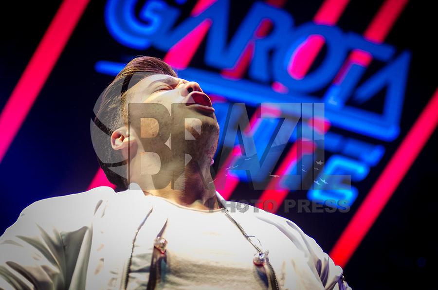 SÃO PAULO,SP, 07.07.2017 - SHOW-SP - O cantor Wesley Safadão durante show no Espaço das Américas na cidade de São Paulo, nesta sexta-feira, 07. (Foto: Bete Marques/Brazil Photo Press)