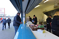 North Terrance refreshments during Stevenage vs Reading, Emirates FA Cup Football at the Lamex Stadium on 6th January 2018