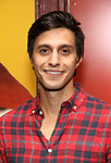 "Gideon Glick attends then Broadway Family invite to The Final Dress Rehearsal Of Harvey Fierstein's ""Torch Song"" on October 8, 2018 at the Hayes Theatre in New York City."