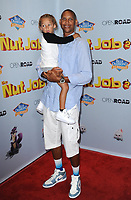 www.acepixs.com<br /> <br /> August 5 2017, LA<br /> <br /> Reggie Miller arriving at the premiere of Open Road Films' 'The Nut Job 2: Nutty by Nature' at the Regal Cinemas L.A. Live on August 5, 2017 in Los Angeles, California<br /> <br /> By Line: Peter West/ACE Pictures<br /> <br /> <br /> ACE Pictures Inc<br /> Tel: 6467670430<br /> Email: info@acepixs.com<br /> www.acepixs.com