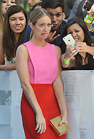 Brittany Snow at the 2015 MTV Movie Awards at the Nokia Theatre LA Live.<br /> April 12, 2015  Los Angeles, CA<br /> Picture: Paul Smith / Featureflash