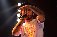 SAO PAULO, SP, 18.05.2014 - SHOW DA MIX - MARCELO D2 - O cantor Marcelo D2 durante show promovido pela radio Mix FM na noite deste domingo (18), no HSBC Brasil em São Paulo. (Foto: Levi Bianco - Brazil Photo Press)