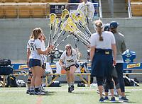 Berkeley, Ca. - The Cal Bears Lacrosse team vs Marquette University at California Memorial Stadium. Final score - Cal 18, Marquette 11.