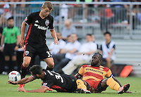 Boyds, MD. - Wednesday, June 15,  2016: Fort Lauderdale Strikers defeated D.C United in penalty kicks after the match ended in a 0-0 tie in a US Open Cup 4th round match at the Maryland Soccerplex.