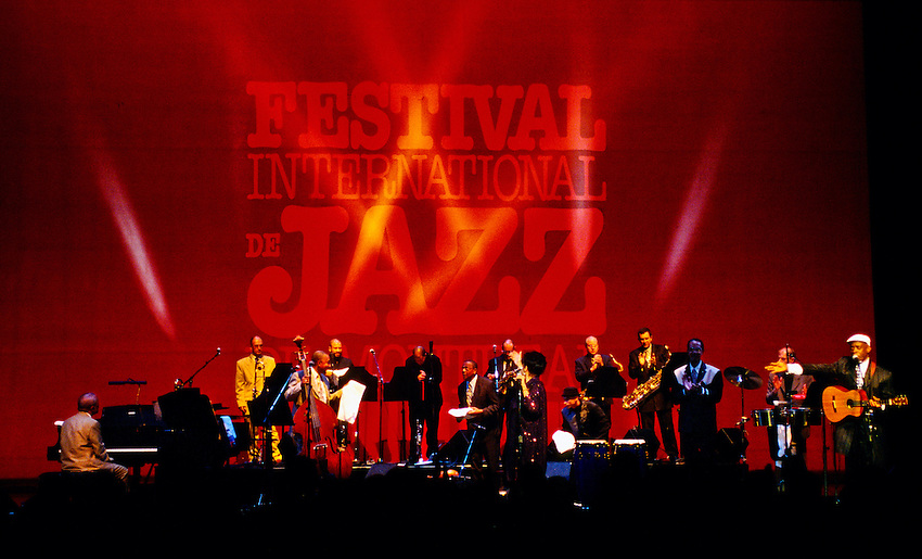 Omara Portuonodo performing at the Montreal International Jazz Festival, Montreal, Quebec, Canada