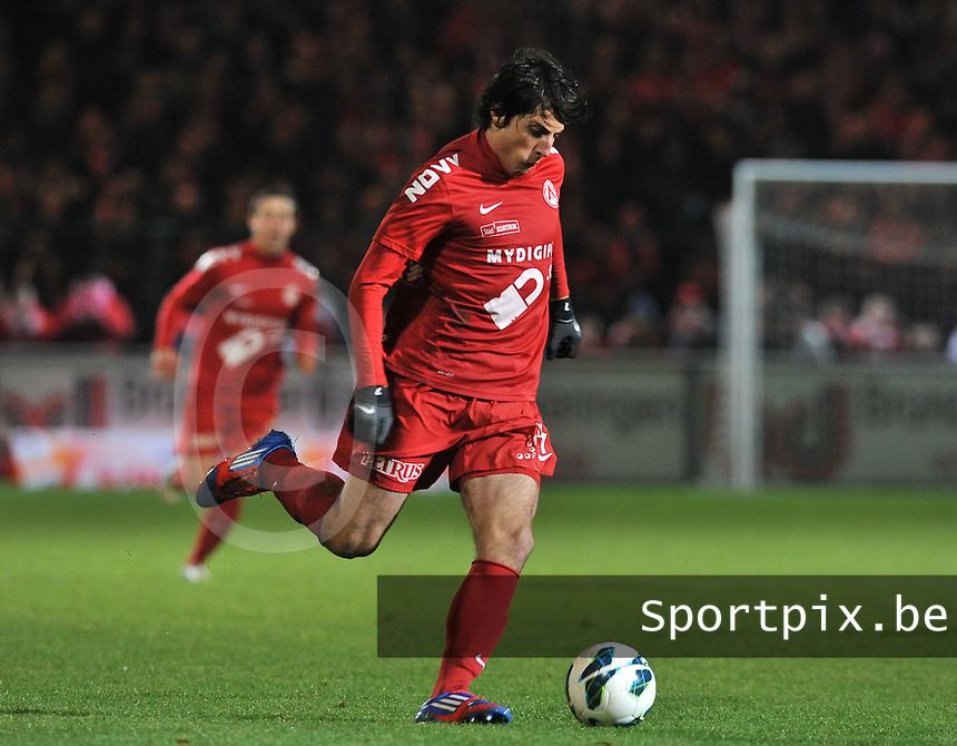 KV Kortrijk - Cercle Brugge  : Pablo Chavarria.foto VDB / BART VANDENBROUCKE