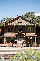 Grand Canyon Railroad, South Rim, Arizona.