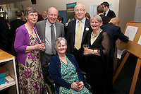 Pictured from left Frances and Kevin Kelly, Brenda and Robin Hall and Wendy Peckham