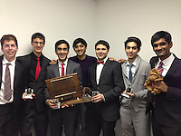 The Harker School - US - Upper School - Harker students made history this week, being the first team to both win the Public Forum open invitational and the elite Public Forum round robin hosted by The Blake School in Minneapolis, MN- Photo by Carol Green