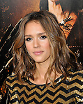Jessica Alba at the Machete premiere held at the Orpheum theatre in Los Angeles, Ca. August 25, 2010 © Fitzroy Barrett