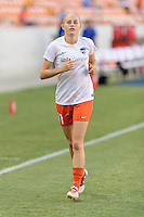 Houston, TX - Saturday Sept. 03, 2016: Janine Beckie prior to a regular season National Women's Soccer League (NWSL) match between the Houston Dash and the Orlando Pride at BBVA Compass Stadium.