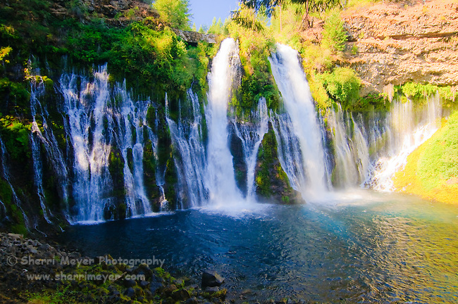 McArthur-Burney Falls Memorial State Park, Northern California.