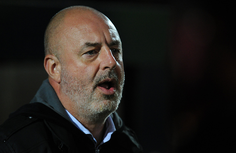 Bolton Wanderers manager Keith Hill<br /> <br /> Photographer Kevin Barnes/CameraSport<br /> <br /> EFL Leasing.com Trophy - Northern Section - Group F - Rochdale v Bolton Wanderers - Tuesday 1st October 2019  - University of Bolton Stadium - Bolton<br />  <br /> World Copyright © 2018 CameraSport. All rights reserved. 43 Linden Ave. Countesthorpe. Leicester. England. LE8 5PG - Tel: +44 (0) 116 277 4147 - admin@camerasport.com - www.camerasport.com