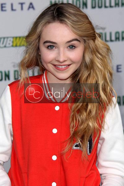 "Sabrina Carpenter<br /> at the ""Million Dollar Arm"" World Premiere, El Capitan, Hollywood, CA 05-06-14<br /> David Edwards/Dailyceleb.com 818-249-4998"