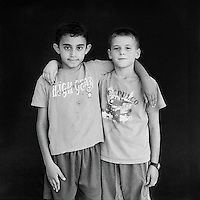 Etay Gomelsky, Adan Aweid. Photo by Quique Kierszenbaum.