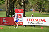 PATTAYA, THAILAND - FEBRUARY 22: Sei Young Kim of South Korea on the 15th tee during the second round of the Honda LPGA Thailand 2019 at Siam Country Club Pattaya (Old Course), Pattaya, Thailand on February 22, 2019.<br /> .<br /> .<br /> .<br /> (Photo by: Naratip Golf Srisupab/SEALs Sports Images)<br /> .<br /> Any image use must include a mandatory credit line adjacent to the content which should read: Naratip Golf Srisupab/SEALs Sports Images