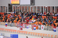 SPEEDSKATING: SOCHI: Adler Arena, 24-03-2013, Essent ISU World Championship Single Distances, Day 4, publiek, © Martin de Jong