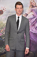 Ed Speelers at the premiere of &quot;Alice Through the Looking Glass&quot; at the Odeon Leicester Square, London.<br /> May 10, 2016  London, UK<br /> Picture: Steve Vas / Featureflash