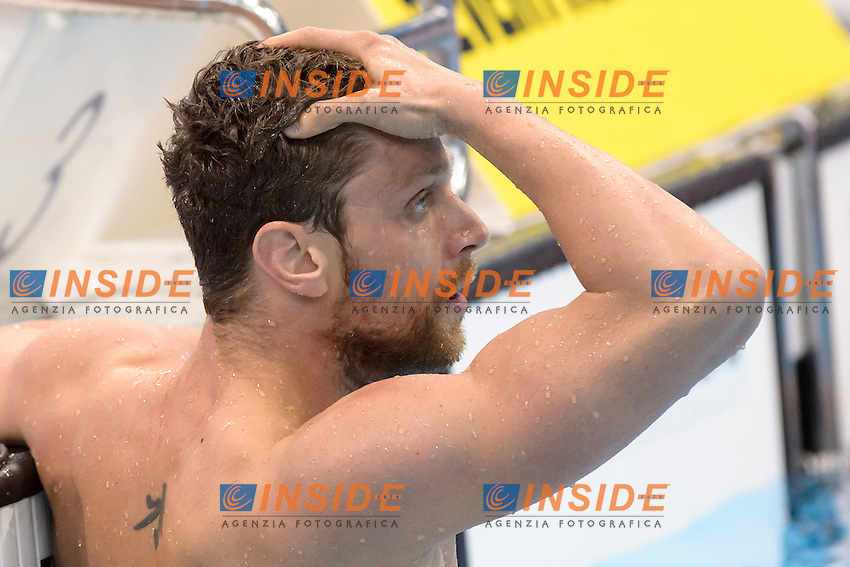 Luca DOTTO ITA <br /> 100m Freestyle Men semi-final<br /> London, Queen Elizabeth II Olympic Park Pool <br /> LEN 2016 European Aquatics Elite Championships <br /> Swimming<br /> Day 11 19-05-2016<br /> Photo Andrea Staccioli/Deepbluemedia/Insidefoto