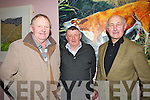 ART; Admiring the Art Exhibition on Friday night in the An Tochar Adult Education Centre Causeway on Friday night l-r: John B McMahon, Eamon Supple and Eamon O'Sullivan.....