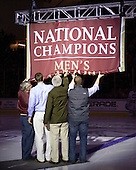 101029 - Merrimack at Boston College (banner raising)