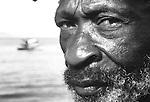 Pescador de Jurujuba, Rio de Janeiro..Fisherman of Jurujuba, Rio de Janeiro.