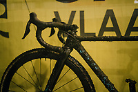 Eli Iserbyt's (BEL/Marlux-Bingoal) mudded bike (post-race)<br /> <br /> Superprestige cyclocross Hoogstraten 2019 (BEL)<br /> Elite Men's Race<br /> <br /> ©kramon